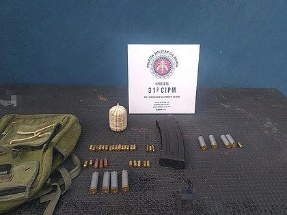Após madrugada de tiroteio, polícia encontra explosivo e munições no bairro de Valéria