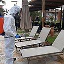 Costa do Sauípe retomou atividade, mas com capacidade bem reduzida