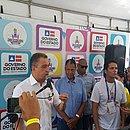 Durante a coletiva de imprensa, o governador Rui Costa comentou os dados preliminares da segurança pública nos três dias de Carnaval