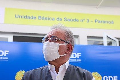 Ministro da Saúde anuncia programa nacional de testagem para covid-19
