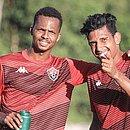 Romisson e Jonathan Bocão integram o time principal do Vitória