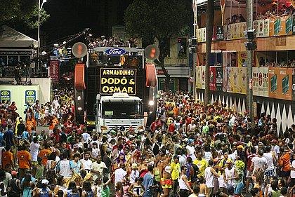 Sem Carnaval, 1,2 milhão de pessoas deixará de estar nas ruas de Salvador