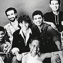Formação original da Banda com os três vocalistas: Marinês, Marquinhos e Julinho