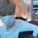 A foto postada por Jaejoong, em uma 'pegadinha' do Dia da Mentira