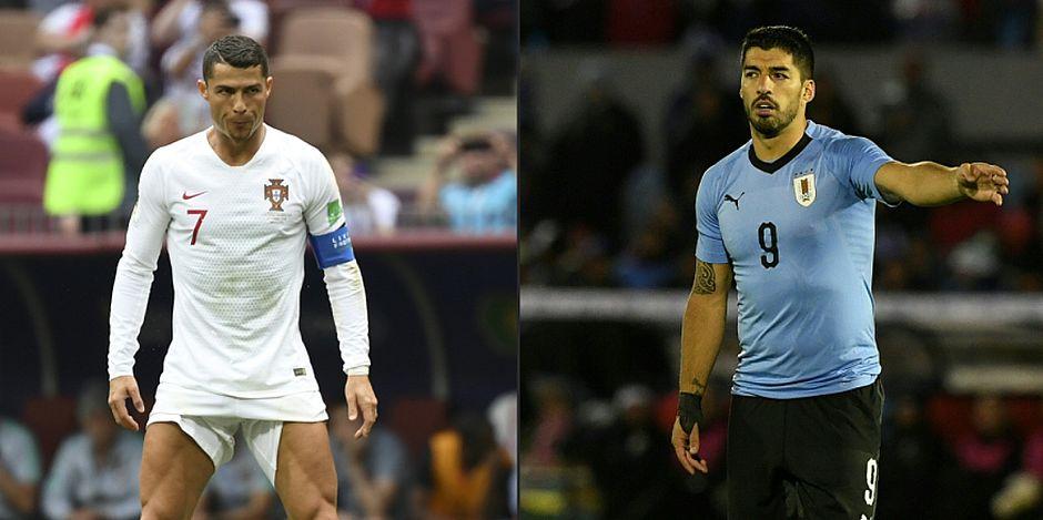 Resultado de imagem para Cristiano Ronaldo passa em branco, Portugal perde para o Uruguai e está fora da Copa