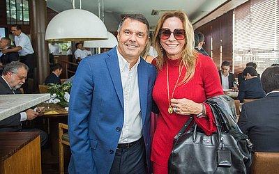 Helio Tourinho e Ângela Freitas