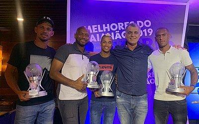Van, Jair, Jarbas, Barbosinha e Cazumba são os premiados do Bahia de Feira