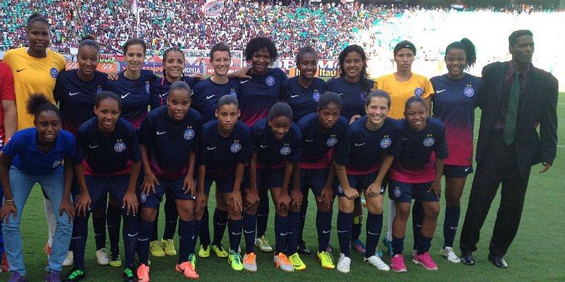 Bahia lançará time de futebol feminino em novembro