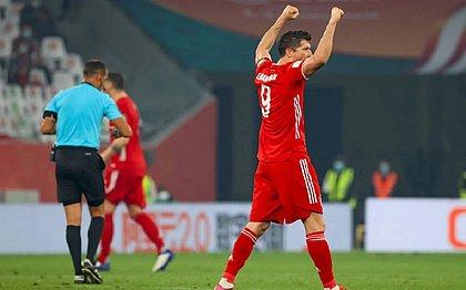 Lewandowski foi eleito o melhor jogador do Mundial
