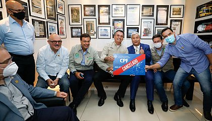 Bolsonaro comemora morte de Lázaro Barbosa: 'CPF cancelado'