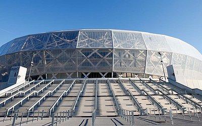 Stade de Nice tem capacidade para 35.100 torcedores