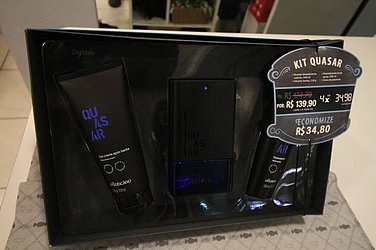 Kit Quasar - OBoticário - R$ 139,90
