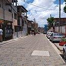 A rua requalificada tem 1,1 km de extensão