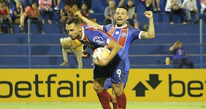 Gilberto chegou a quatro gols pelo Bahia em Copas Sul-Americana