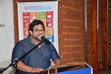 Eduardo Félix, coordenador do Geopark Morro do Chapéu