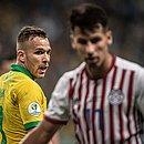 Arthur vibrou após classificação do Brasil à semifinal da Copa América