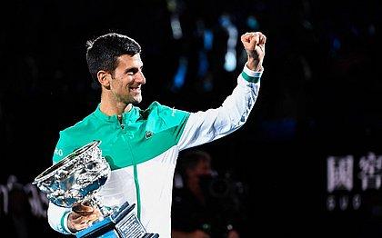 Djokovic registrará um novo recorde no ranking do tênis na semana que vem