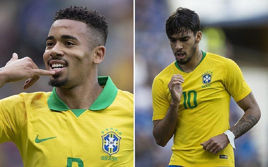 Gabriel Jesus e Lucas Paquetá podem ser convocados para a Olimpíada de Tóquio