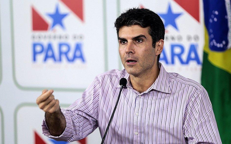 Helder Barbalho, governador do Pará, tem teste positivo para coronavírus