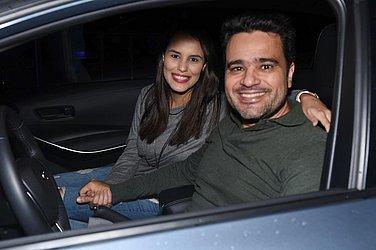Antônio Meira Júnior e Paula Gama