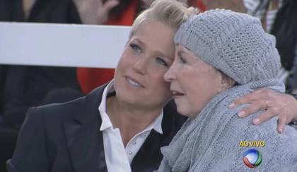 'Ela tá presa no corpo', diz Xuxa sobre grave doença da mãe