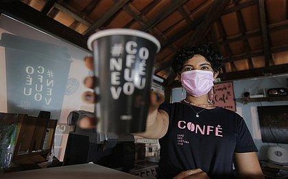Alexia Ribeiro criou a Confé, após perder o emprego no ano passado