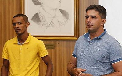 Agricultores Benivaldo dos Santos e Jailton Ribeiro são ex-alunos de projeto