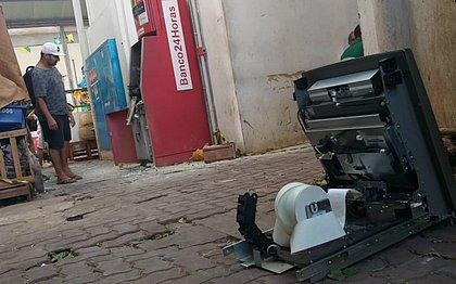 Bandidos invadem Feira de São Joaquim e roubam malote de dinheiro