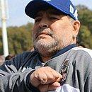 Maradona retirou um hematoma no cérebro
