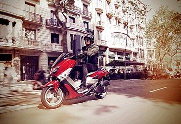 A terceira posição entre as scooters no estado é da Yamaha NMax 160 com 308 unidades