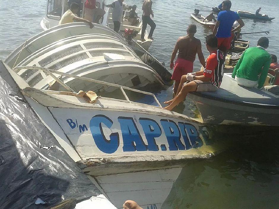 Retomadas buscas por desaparecidos de embarcação que naufragou no Pará