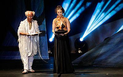 Hilton Cobra e Cyria Coentro foram alguns dos mestres da cerimônia