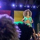 Vitória do Carmo foi uma das jovens que participaram das seletivas do ano passado e desfilaram no AFD
