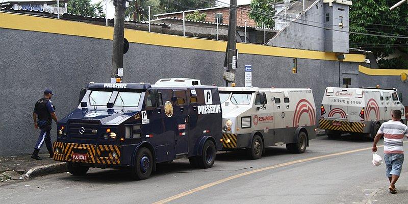 Grupo é criado após 16 ataques a carros-fortes na Bahia