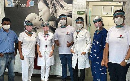 CoronaVidas doa 50 mil máscaras Face Shield para hospitais públicos da Bahia
