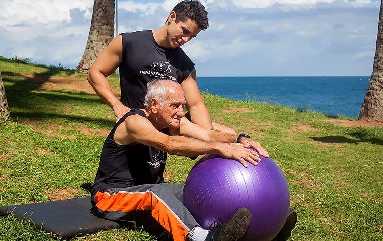 prática de exercícios