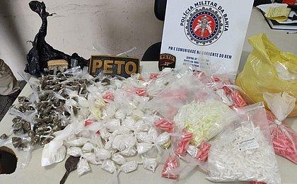 Mulher é presa após ser flagrada com R$ 40 mil em cocaína em imóvel na RMS
