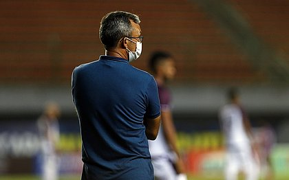Cláudio Prates, técnico do time de transição do Bahia