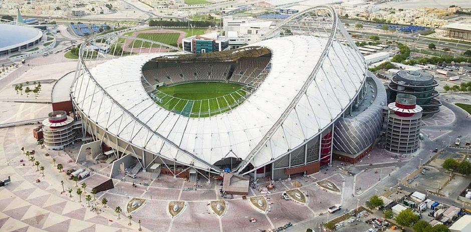 Estádio do Khalifa, em Doha