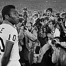 Pelé jogou no New York Cosmos entre 1975 e 1977