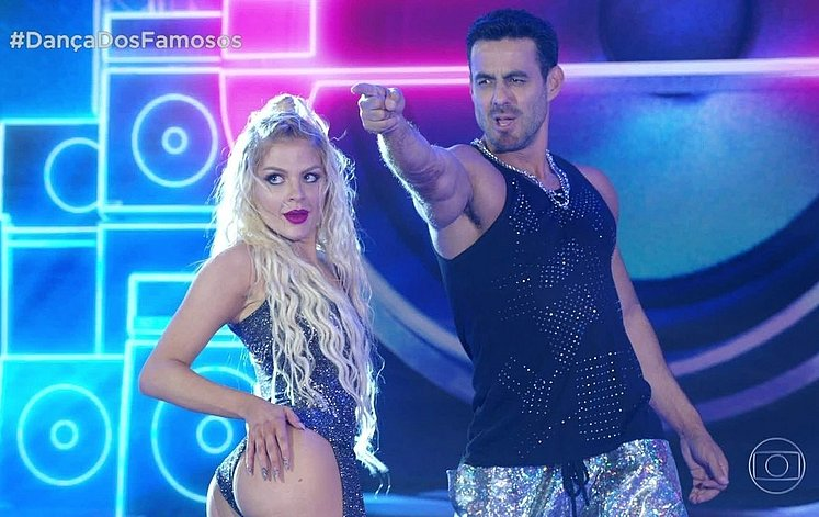 dança dos famosos