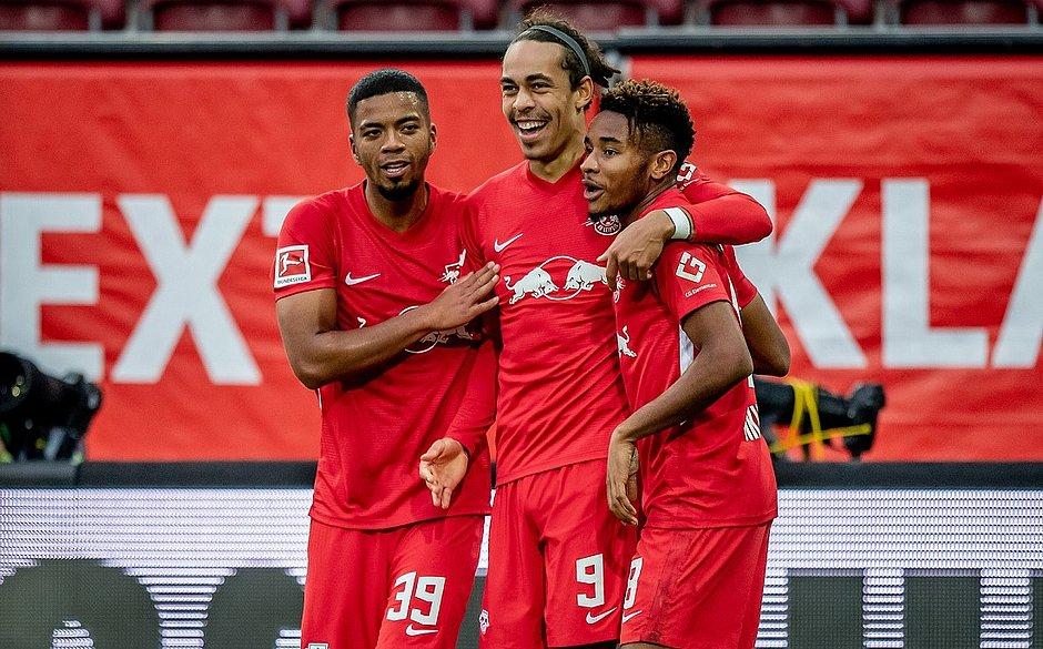 RB Leipzig bateu o Augsburg por 2x0 fora de casa