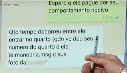 """Najila Trindade diz que temeu """"não chegar viva no Brasil"""""""