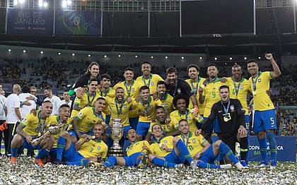 Brasil foi o campeão da Copa América de 2019