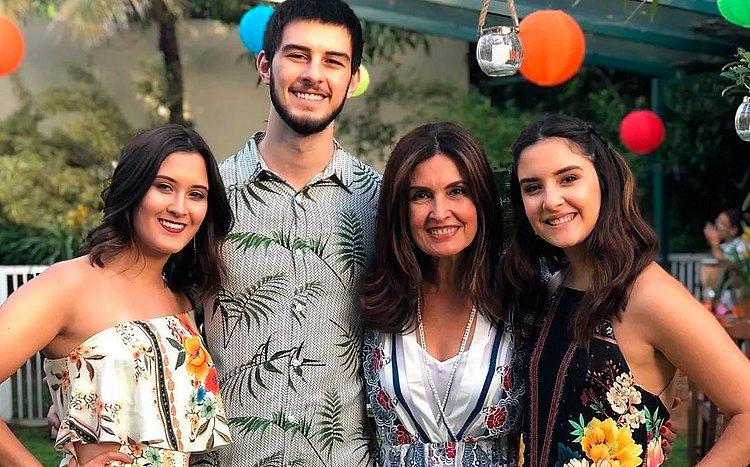 Fátima celebra 21 anos dos trigêmeos: 'Transformou minha vida'