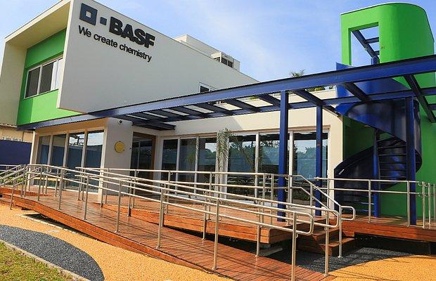 A Basf desenvolveu a Casa E com a proposta de testar produtos que garantissem construções mais sustentáveis