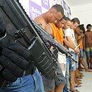 Polícia prendeu 10 criminosos no Nordeste de Amaralina,  nesta terça (28)