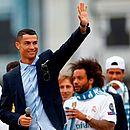 Cristiano Ronaldo dá adeus para o Real Madrid e assina contrato com a Juventus