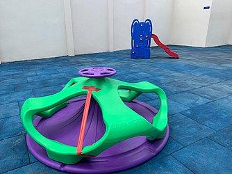 Espaço recreativo para as crianças