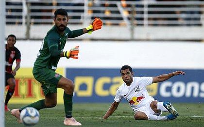 Gols do Bragantino saíram no segundo tempo